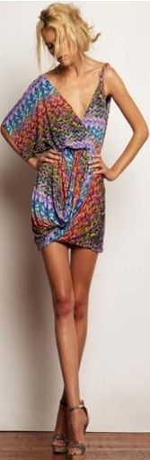 Drape Sleeve Dress at Estilo Boutique $198 via boutiika.com