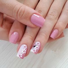 Pin by rita diosana on nail art designs in 2019 uñas de gel, uñas infantile Cute Nails, Pretty Nails, Nail Selection, Nagellack Trends, Pink Nail Designs, Nails Design, Creative Nails, Nail Tutorials, Perfect Nails