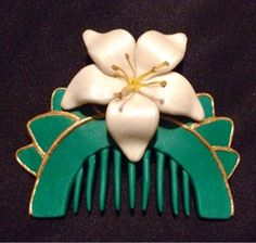 Because I Said Sew: Preview of race costumes to come  Hair comb for Mulan running costume