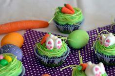 Ninas kleiner Food-Blog: Möhrchen-Cupcakes mit Frischkäse-Orangen-Frosting