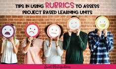 title image In Use, Project Based Learning, Rubrics, Assessment, Reflection, The Unit, Projects, Image, Log Projects
