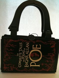 Complete Tales of Edgar Allan Poe Book Purse by NovelCreations 76eb886ed1a4a