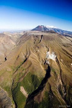 Over the volcanoes, Tongariro Alpine Crossing, New Zealand