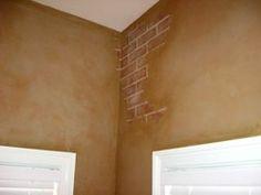 brick faux painting   Artisan Painting - Faux Finishing, Decorative Painting, Venetian ...