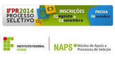 Cronograma e outras informações do Concurso Público do IFPR são retificadas - http://projac.com.br/noticias/cronograma-informacoes-concurso-publico-ifpr-sao-retificadas.html
