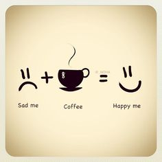 For happy faces drink #karvancoffee #CoffeeQuotes