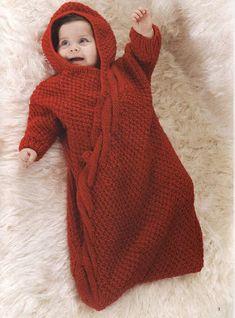 bebekler için örgü uyku tulumu yapılışı - Deryagibiörgüler.com