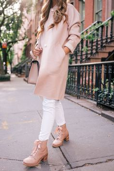 Gal Meets Glam x Frye Boot in blush #fallstyle #styleblogger