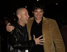 Michael Rosenbaum and Tom Welling