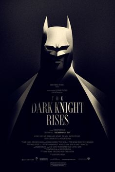 Mondo: The Archive | Olly Moss - The Dark Knight Rises, 2012