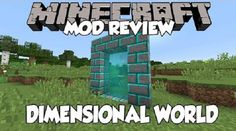 New post (Dimensional World Mod 1.8.9/1.7.10) has been published on Dimensional World Mod 1.8.9/1.7.10  -  Minecraft Resource Packs