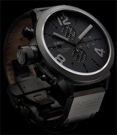 U-Boat #watches #clocks #watch #clock #time #lifestyle #men #fashion