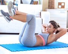 5 effektive Bauchübungen, dann kann der Sommer kommen!