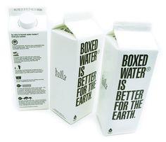 Agua. Atributos: simple, sustentable, beautiful.