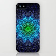 PEACOCK COLOUR MANDALa iPhone Case for iPhone 5 + 4s + 4 + 3gs + 3g ...