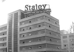 Staley Manufacturing; Decatur Illinois; picturedecatur.blogspot.com