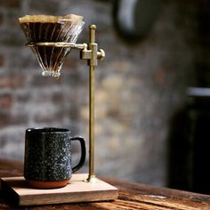 from a distance 💧 Coffee Pour Over Stand, Brew Stand, V60 Coffee, Brewing, Coffee Maker, Shop Now, Kitchen Appliances, Distance, Wave