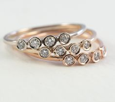 Love these stack rings from Tulajewelry on Etsy. I already have 3 and want more & more!!