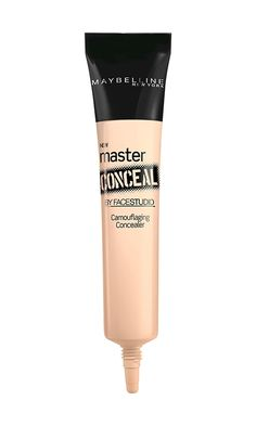 """Admittedly, I can be a bit skeptical of drugstore beauty products, but this concealer works so well for covering up dark circles and blemishes. It's super affordable, too!"""
