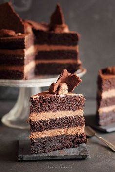Romanian Desserts, Romanian Food, Cake Recipes, Dessert Recipes, Good Food, Yummy Food, Love Chocolate, Sweet Cakes, Something Sweet