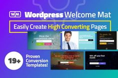Increase Website Conversions with WordPress Welcome Mat - only $27! NOW ON: Increase Website Conversions with WordPress Welcome Mat - only $27!  Expires: September 11 2017 11:59 pm EST  Want to easily capture member emails? Now you can with a simple call-to-action page. This Mighty Deal features more than 19 Welcome Mat templates with clear CTA buttons to greatly increase your site conversions. Fully customizable and easy to export your data you won't find a warmer welcome on the Web!  19…