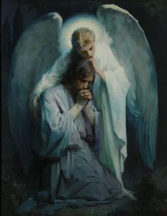 Angel with Jesus