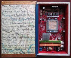 """Libro de Artista """"Libro Electónico"""""""