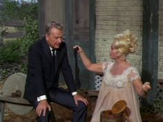 Eddie Albert and Eva Gabor in Green Acres (1965)