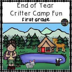 Are you looking for end of year activities?  End your year with a BANG, and let us do all the planning for you!  This week long camp unit has a forest critter theme that captures students' attention. It has been thoughtfully designed with FUN and LEARNING FILLED activities that will keep your students highly engaged and learning up until the last day of school.