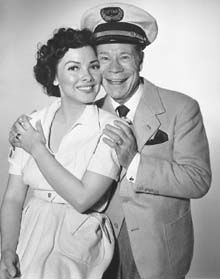 Kathryn Grayson and Joe E Brown In the 1951 'Show Boat'