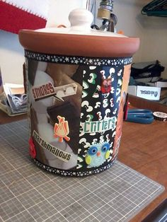Campfire Cookie Jar by IFeltItUp on Etsy, $25.00