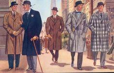 kinds of coats a men should know
