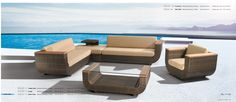 colección verano 2013 / 2014. ratan sintético, ideal para exterior.