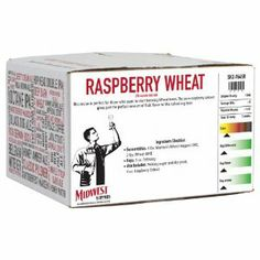 Raspberry Wheat 20 minute boil kit by Midwest Homebrewing and Winemaking Supplies. $30.49. Raspberry Wheat 20 minute boil kit with 4 oz. fruit flavoring.