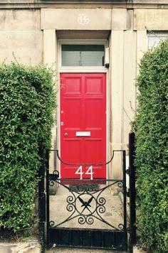 Traditionell & modern: Kraftvoll: Rote Haustür in Edinburgh - Bild 10 - [SCHÖNER WOHNEN]