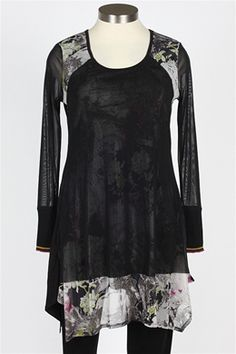 Stella Carakasi - Eclipse Tunic - Black $109