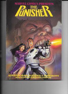 1988 Marvel Comics Presents THE PUNISHER TPB  Mike Zeck  (1st Print!)