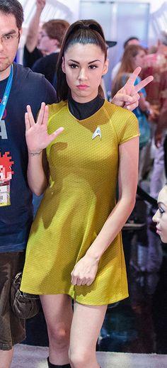 Star Trek cosplay model at E3 2012 | Flickr - Photo Sharing!