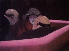Casto Suzanne, óleo sobre lienzo de Felix Vallotton (1865-1925, Switzerland)
