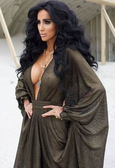 I freaking love her. Ghalichi Glam, Home Cooking and Other Hot Topics with Shahs of Sunset Star Lilly Ghalichi