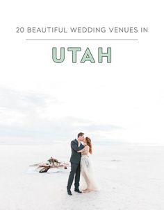 Looking for an event or wedding venue in Utah? Here are 20 unique event spaces to check out! Photo Credit: Anastasia Strate