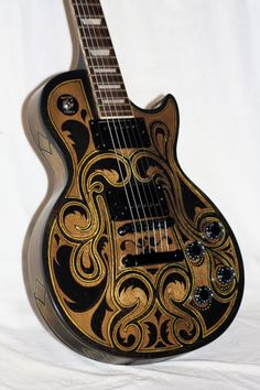 Custom Finish Gibson by Les Paul. Gibson Les Paul, Guitar Art, Music Guitar, Cool Guitar, Violin, Fender Telecaster, Rick E, Best Guitar Players, Les Paul Guitars