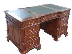 Partner Desks for Home Office | Partner pedestal desk study office desk