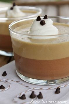 Una bomba calorica ...   ma un'autentica delizia per il palato!               Ingredienti per 4-6 coppette   - 100 gr di cioccolato fon...
