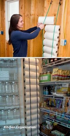 Small Kitchen Remodel and Storage Hacks on a Budget ~ grandes.site Small Kitchen Remodel and Storage Hacks on a Budget ~ grandes. Kitchen Organization Pantry, Diy Kitchen Storage, Diy Kitchen Cabinets, Kitchen Pantry, Diy Organization, New Kitchen, Pantry Storage, Organized Pantry, Organizing Ideas