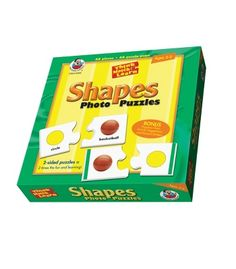 Shapes Photo Floor Puzzle - Carson Dellosa Publishing Education Supplies