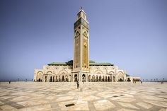 Mosquée Hassan II in Casablanca.