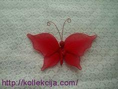 Mariposa de aire de nylon de Las Manos