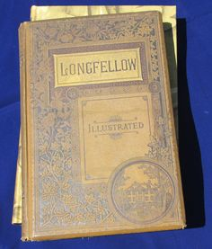 #longfellow #book #vintage #vintagebook #antique #antiquebook #gold