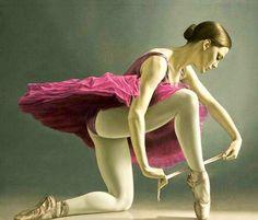 Obras de Sergio Martínez Cifuentes, Nació en Santiago, Chile Hermosas Mujeres en Pinturas Hiperrealistas al Óleo Sobre Lienzo Cuadros de Retratos de mujeres